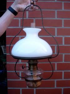 Hänge-Petroleumlampe
