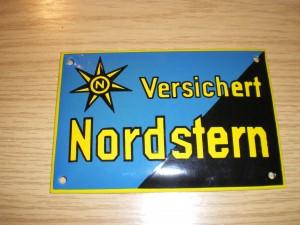 Email-Versicherungsschild Nordstern