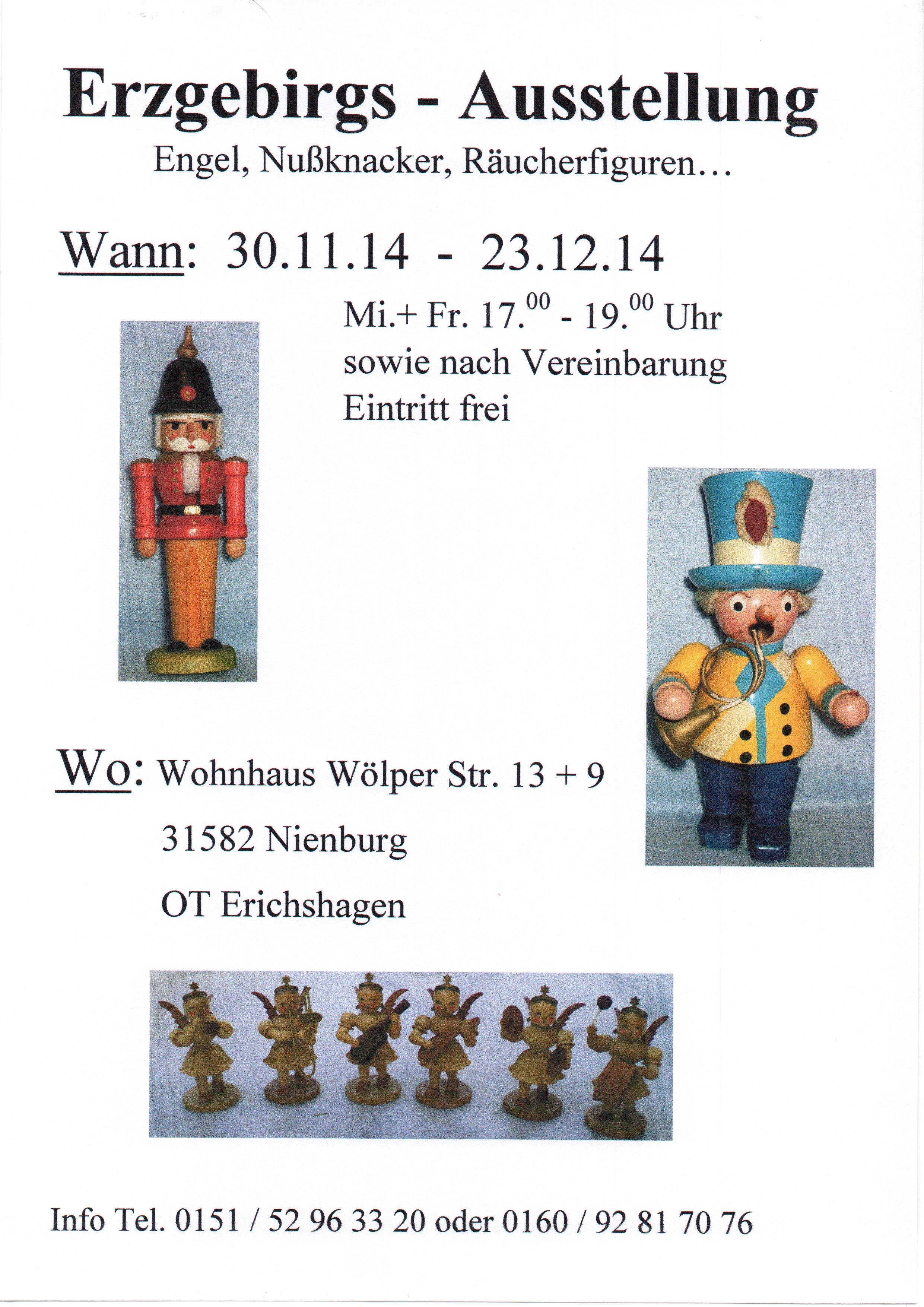 2014 Plakat Erzgebirgsausstellung