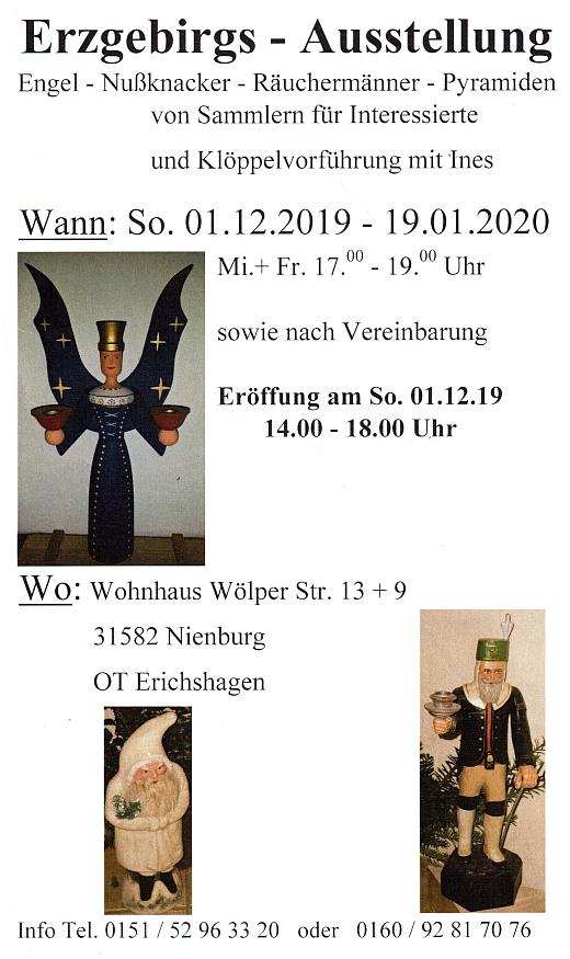 Erzgebirgsausstellung in Erichshagen